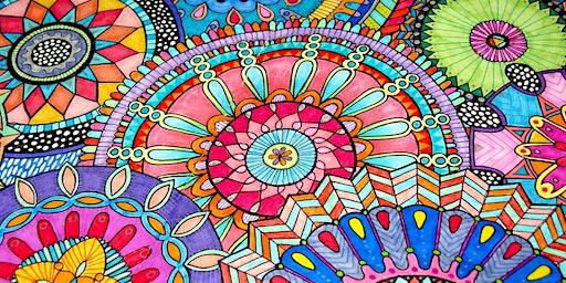Stone Mandala Painting