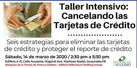 """Taller: """"Libre de Deudas"""" Un plan para cancelar las Tarjetas de Crédito tickets"""
