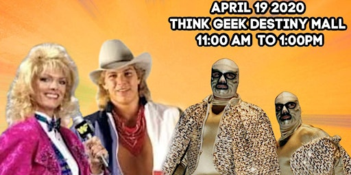 80s WRESTLING COMES TO THINK GEEK DESTINY MALL SYR