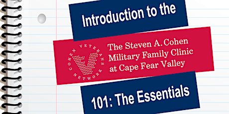 Introduction to Therapy at the Steven A. Cohen Military Family Clinic tickets
