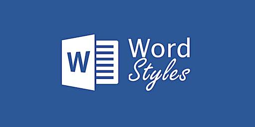 Word Styles