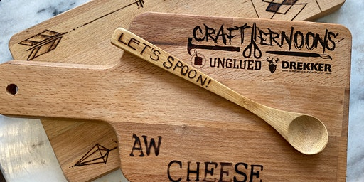 Crafternoons - Wood Burning with See Lang Design