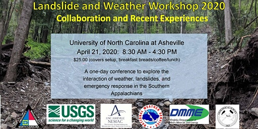 Landslide and Weather Workshop 2020
