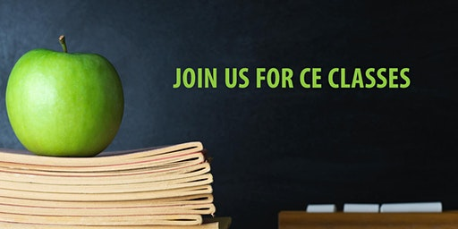 Join Us for 2 CE Classes, Earn 1 Credit Hour per class in Taylor, TX!