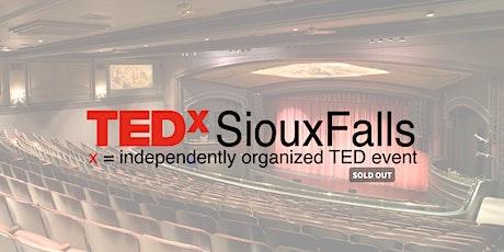 TEDxSiouxFalls 2020 waitlist tickets