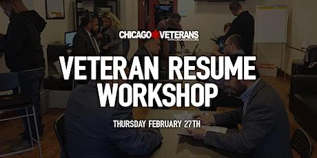 Veteran Resume Workshop tickets