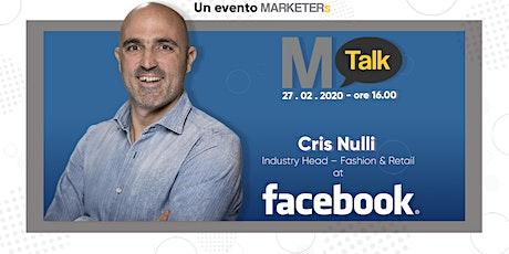 MTalk: Facebook - Cris Nulli biglietti