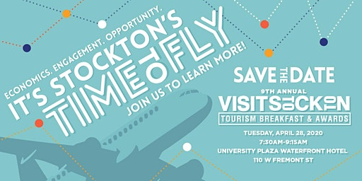 2020 Visit Stockton Annual Tourism Breakfast & Awards