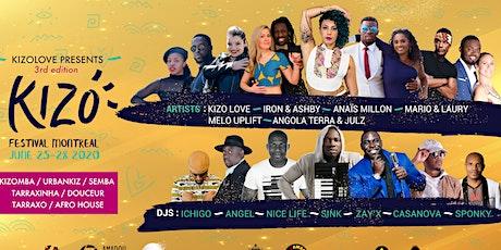 KIZO Festival Montréal 3e 2020 tickets