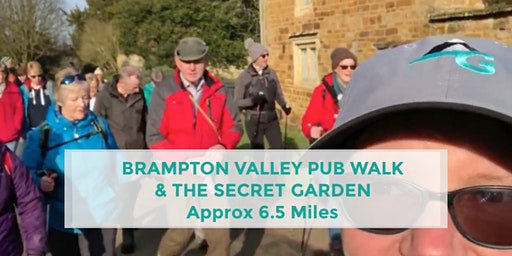BRAMPTON VALLEY AND THE SECRET GARDEN | 6.5 MILES | MODERATE | NORTHANTS