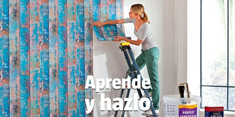 Aprende y hazlo Zaragoza - Cómo instalar papel pintado entradas