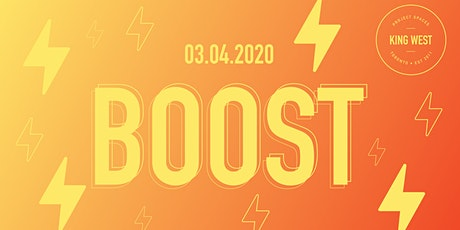 BOOST (Your Mid-Week AM Power Up) tickets
