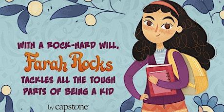 Reading & Book Signing: Farah Rocks Fifth Grade tickets