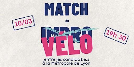 LE MATCH DU VELO // DEBAT SUR LE VELO Elections 2020 Métropole de Lyon