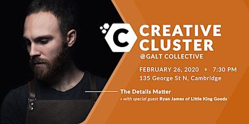 Creative Cluster v11: The Details Matter