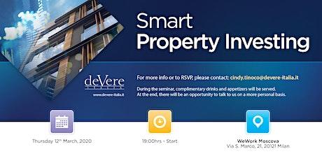 DeVere presents: Smart Property Investing biglietti