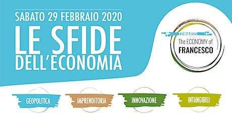 EVENTO ANNULLATO - Le sfide dell'economia biglietti