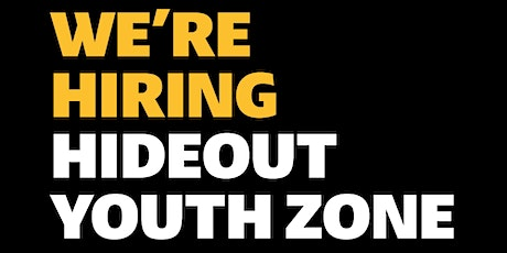 Recruitment Drop In (HideOut Youth Zone) tickets