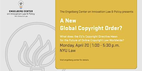A New Global Copyright Order? biglietti