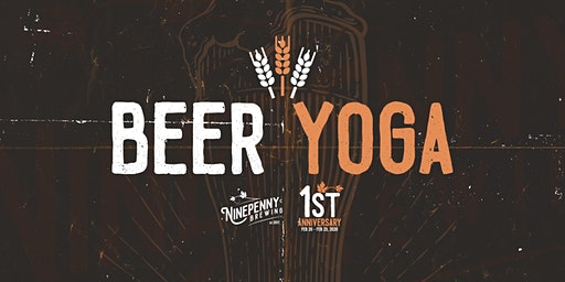 Beer Yoga at Ninepenny - Registration Sign-Up