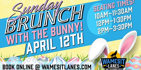 Brunch with the Bunny! tickets