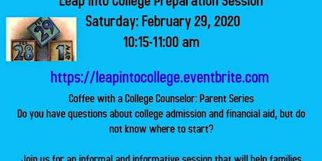 Leap into College Admission tickets