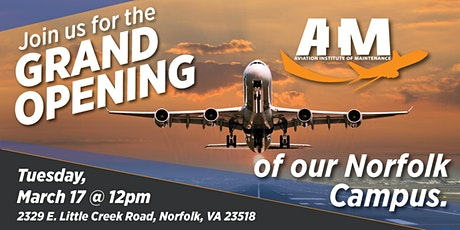 AIM Norfolk | Grand Opening tickets