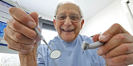 Holocaust Survivor and The UK's Longest Serving UK Dentist tickets