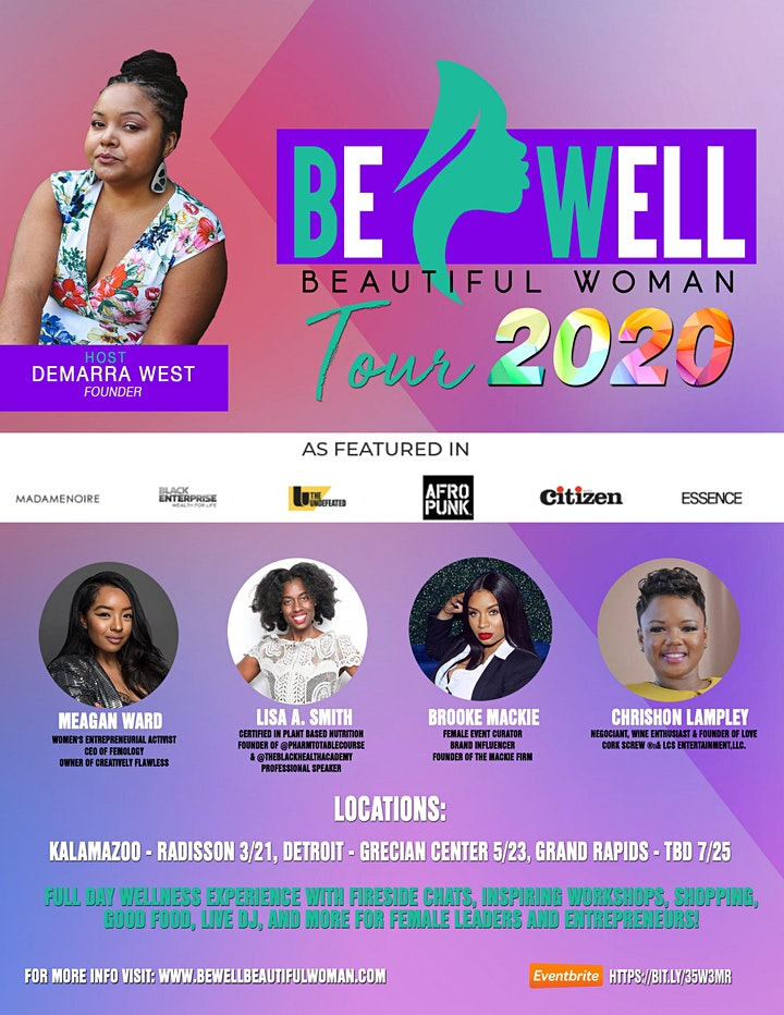 Be Well Beautiful Woman Tour image