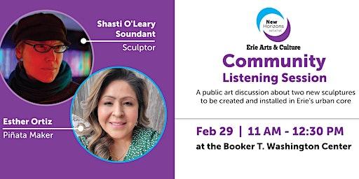 Community Listening Session: A Public Art Discussion
