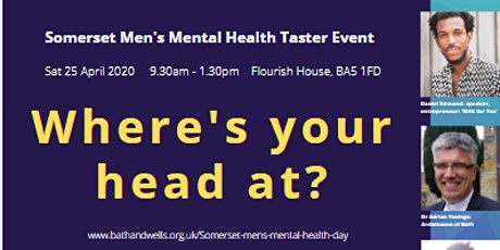 Where's Your Head At? - Somerset Men's Mental Health Morning tickets