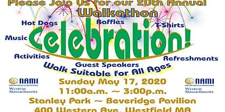 NAMI Western Massachusetts 20th Annual Walkathon Celebration! tickets