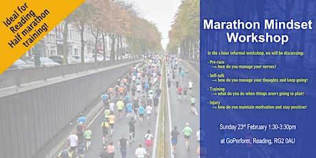 Marathon Mindset Workshop - Reading tickets