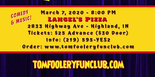 Tomfoolery Fun Club: Happy Anniversary!