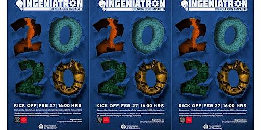 Kick off Ingeniatrón 2020 + Taller Educación Basada en STEM
