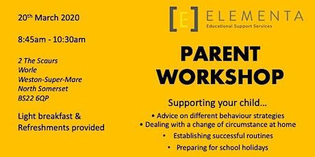 Elementa Parent Workshop tickets