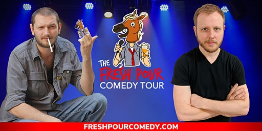 The Fresh Pour Comedy Tour at Fredonia Brewery