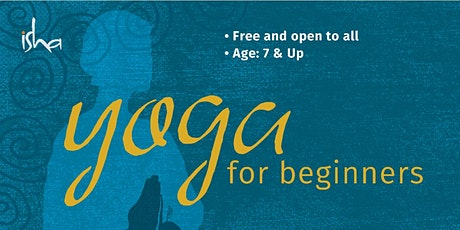 FREE Yoga for Beginners (Ages 7+) tickets