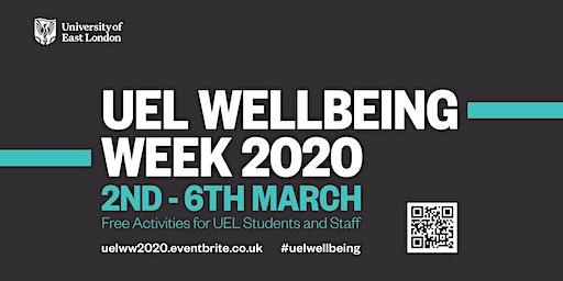 UEL Wellbeing Week 2020