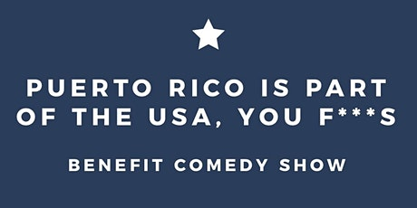 Puerto Rico Benefit Comedy Show tickets