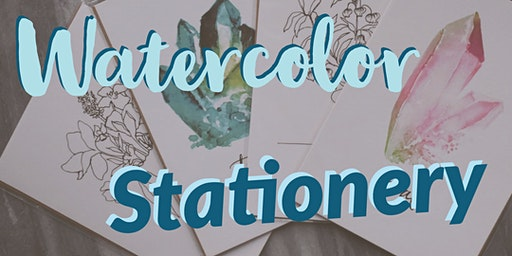 Watercolor Stationery Making