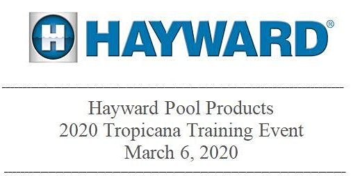 Hayward Pool Products 2020 Training- Las Vegas
