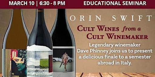 Educational Seminar: Orin Swift Wines