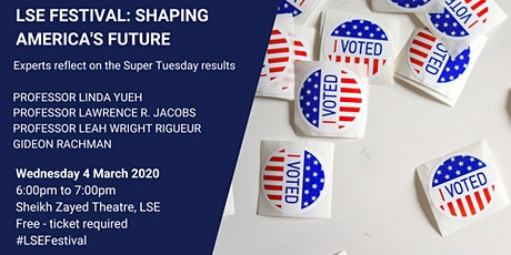 Shaping America's Future tickets