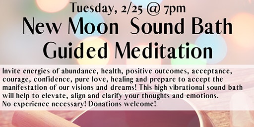 New Moon Sound Bath Meditation