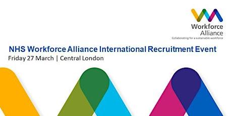 NHS Workforce Alliance International Recruitment Event tickets