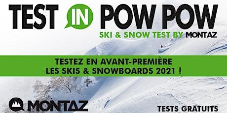 Test gratuit Skis et Snowboards 2021 billets