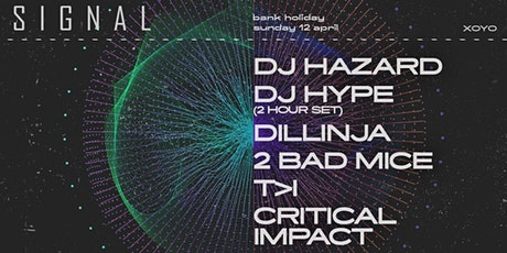 Signal 002: DJ Hazard, DJ Hype (2 Hour set), Dillinja, 2 Bad Mice and more tickets