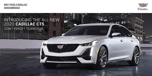 2020 Cadillac CT5 VIP Launch