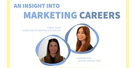 An Insight into Marketing Careers with Denholm Associates tickets
